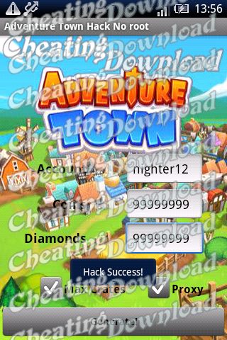 adventure town hack android