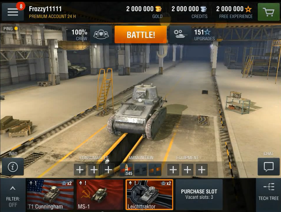 world of tanks blitz hacked apk